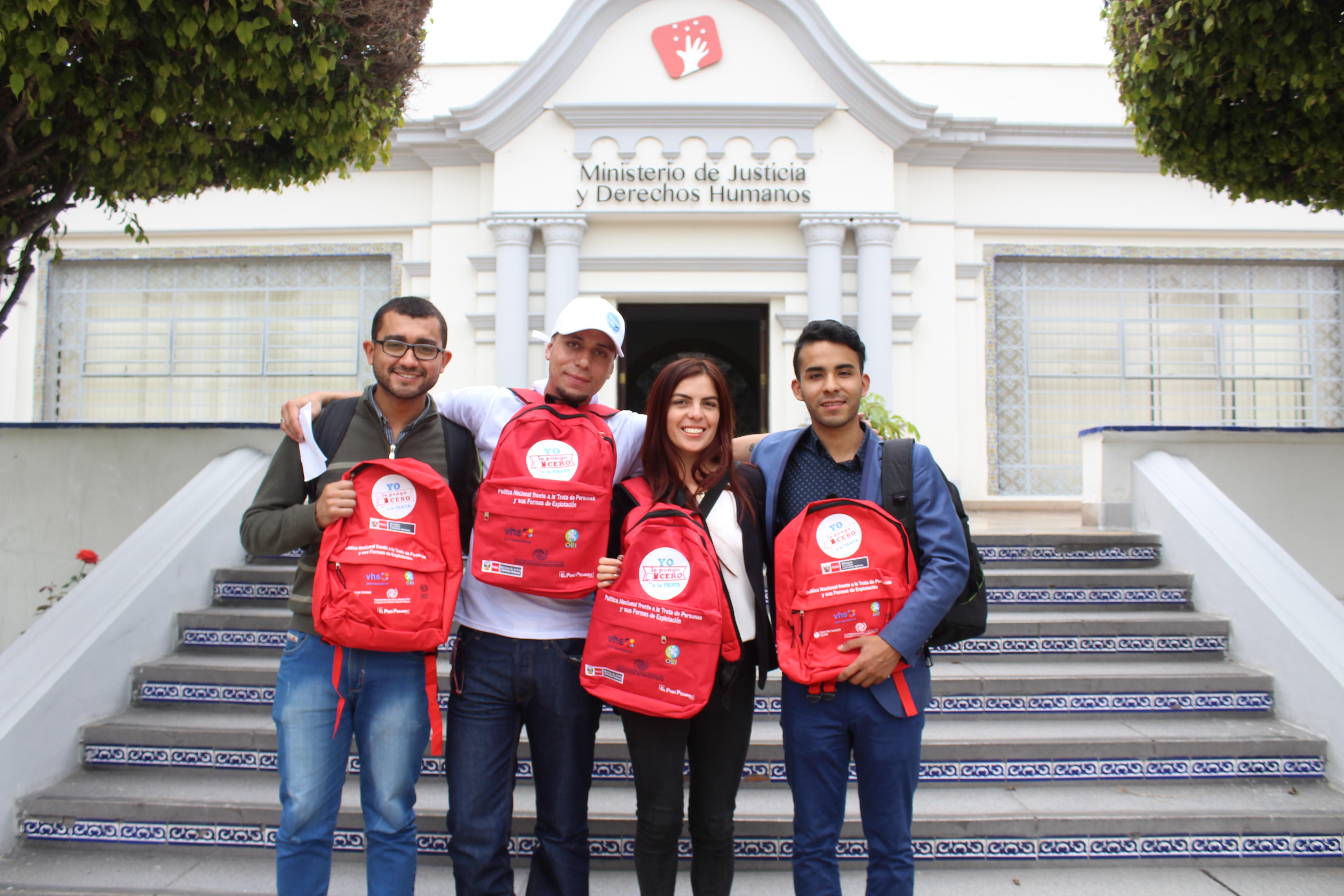 Perú acogió a la Fundación Pasos Libres