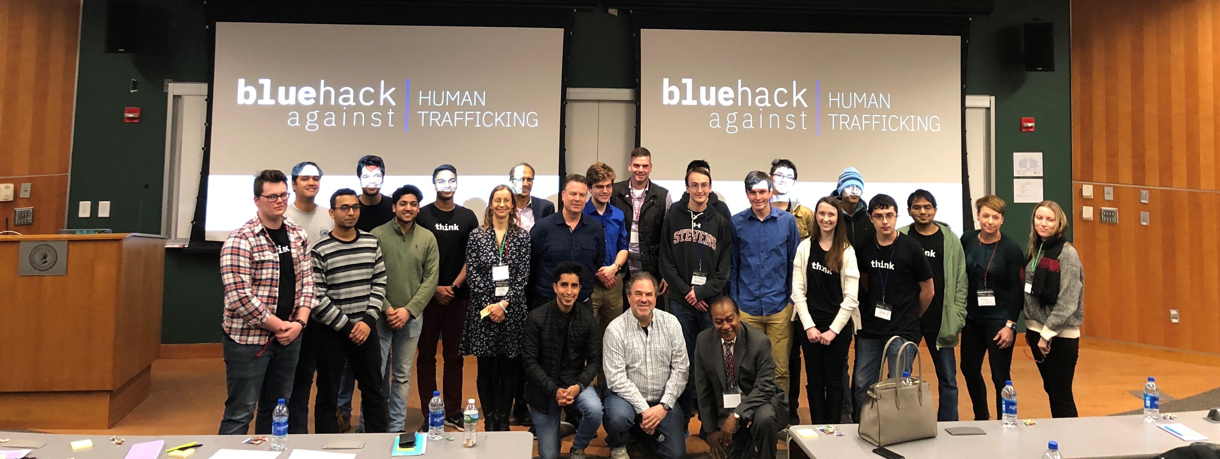 IBM, Pasos Libres, UNODC y el Stevens Institute of Technology llevaron a cabo la primera BlueHack Contra la Trata de Personas de Estados Unidos