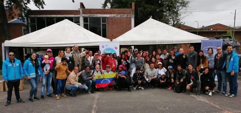 La Fundación Pasos Libres trabajó con migrantes venezolanos